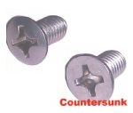 Countersunk (A2 Stainless)