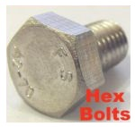 Hex Bolts (A2 Stainless)