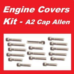 BZP Philips Head Screws Engine Covers Kit Honda CD175