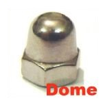 A2 Stainless Dome Nuts
