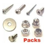 A2 Stainless Fasteners Packs