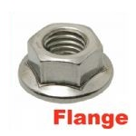A2 Stainless Flange Nuts