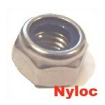 A2 Stainless Nyloc Nuts (M3 to M12)