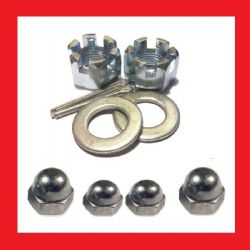 Fuel // Oil Line Clamps 8mm BZP Pack of 4 Yamaha YB100