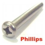 Philips Screws (A2 Stainless)
